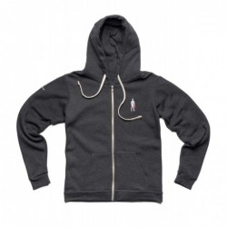FULL ZIP GRIS FONCE TAILLE...