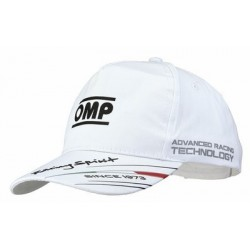CASQUETTE OMP MY2014 BLANCHE